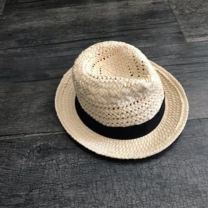 J. Crew Fedora straw hat